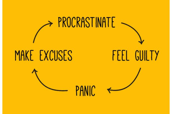 Problem odugovlačenja je česta pojava i obično podrazumeva začaran krug izbegavanja obaveza